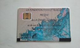 TELECARTE CHAPELLE ROYALE 120 UNITES NSB !!! - France