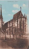 R 28 : Eure : CONCHES : L  église - Conches-en-Ouche