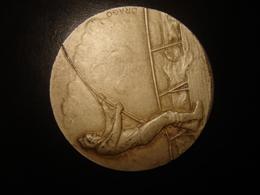 Medaille Jeton Argenté Peche - Pêche