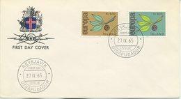 ISLANDA - FDC 1965  - EUROPA UNITA - CEPT - FDC