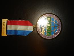Medaille Peche Confederation International De La Peche Sportive Cips Fips - Pêche