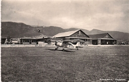 Aviation Flugplatz Grenchen - Granges - Aérodromes