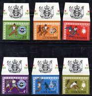 W680 - COOK ISLANDS 1967 , Yvert 116/119  ***  MNH  Linguella Sui Bordi - Cook