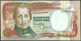 TWN - COLOMBIA 431d - 500 Pesos Oro 12.10.1990 UNC - Colombia