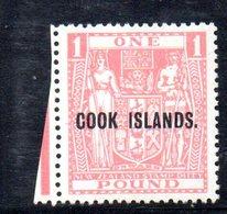W802 - COOK ISLANDS 1935 , Yvert 51  ***  MNH - Cook