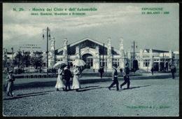 Ref 1250 - 1906 Exhibition Postcard - Esposizione Di Milano Italy - Mostra Del Cicio E Dell'Automobile - Exhibitions