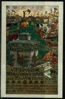 Ref 1250 - 1907 Exhibition Postcard - Esposizione Internazionale D'Arte Venezia - Italy - Exhibitions