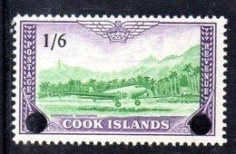 W811 - COOK ISLANDS 1960 , Yvert 88  ***  MNH - Cook