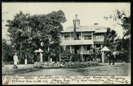 Ref 1250 - 1912 Postcard - Habitation Du Governor General - Boma DRC Congo - Belgian Congo - Other