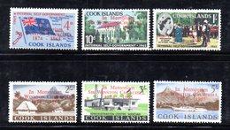 W1126 - COOK ISLANDS 1966 , Yvert 105/110  ***  MNH  CHURCHILL - Cook