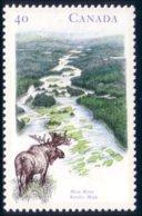 Canada Riviere Main River Moose Elan Orignal MNH ** Neuf SC (C13-25c) - Stamps