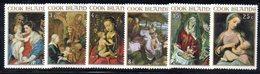 W1137 - COOK ISLANDS 1967 , Yvert 166/171  ***  MNH  NATALE CHRISTMAS - Cook