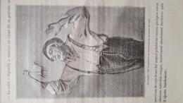 """Gravure Extraite Du Livre """"La Mission Du Capitaine"""" D'Auguste Sandoz A. """"La Voici Dit Le Matelot En Montrant Un Morceau. - Vieux Papiers"""