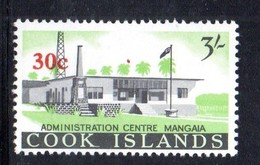 W1175 - COOK ISLANDS 1967 ,  Yvert 131  ***  MNH  ORDINARIA - Cook
