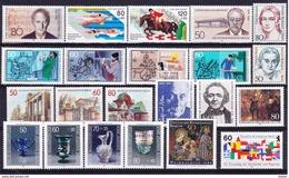 Duitsland Berlin 1986 Compleet **, Zeer Mooi Lot K 301 ( Cat +50€) - [7] Repubblica Federale