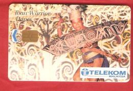 MALAYSIA  Chip Phonecard  FOLK - Malaysia