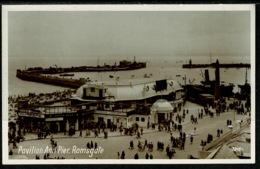 Ref 1251 - Real Photo Postcard - Pavilion & Pier - Ramsgate Kent - Ramsgate
