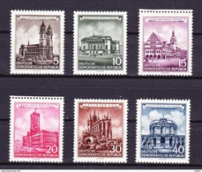 DDR 1955 Nr 229/34 ** Zeer Mooi Lot Krt 3054 - Collezioni (senza Album)
