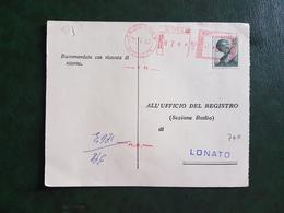 (13131) ITALIA STORIA POSTALE 1963 - 1961-70: Storia Postale