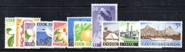 W2976 - COOK ISLANDS 1963 ,  Yvert 89/99  ***  MNH  ORDINARIA - Cook