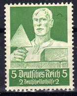 Deutsches Reich, 1934, Mi 558 *, Berufsstände [231218StkKV] - Unused Stamps