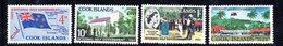 W2975 - COOK ISLANDS 1965 ,  Yvert  101/104  ***  MNH  Autonomia - Cook