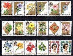 W3188 - COOK ISLANDS 1967 ,  Yvert  137/155  ***  MNH  Manca Il 143 Emesso Successivamente - Cook