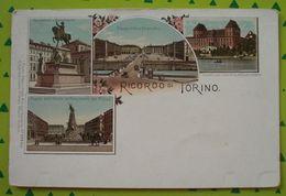 Cartolina Ricordo Di Torino - Non Viaggiata - - Italia