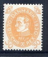 DENMARK 1930 Birthday Of King Christian X 30 Øre MNH / **.  Michel 192 - Unused Stamps