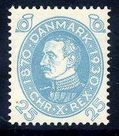 DENMARK 1930 Birthday Of King Christian X 25 Øre MNH / **.  Michel 191 - Unused Stamps