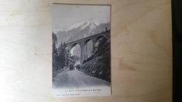 B3-pont Ste-marie Et Le Mont-blanc - Suisse