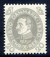 DENMARK 1930 Birthday Of King Christian X 20 Øre MNH / **.  Michel 190 - Nuovi