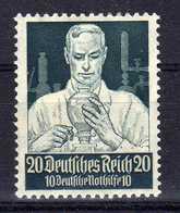 Deutsches Reich, 1934, Mi 562 *, Berufsstände [231218StkKV] - Unused Stamps