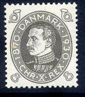 DENMARK 1930 Birthday Of King Christian X 8 Øre MNH / **.  Michel 187 - Nuovi