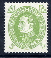 DENMARK 1930 Birthday Of King Christian X 5 Øre MNH / **.  Michel 185 - Unused Stamps
