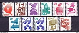 Duitsland Berlin 1971/1973 Varia ** Zeer Mooi Lot Krt 3103 - Unused Stamps