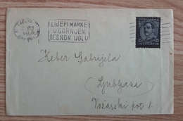 Yugoslavia 1935 Letter With FLAM Zagreb - Covers & Documents