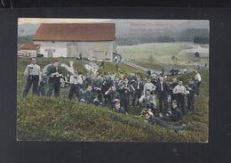 Schweiz AK Battl. 39Porto Frei Sanitätstruppen 1909 - Régiments