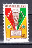 Niger   -   1972. Lotteria Nazionale. National Lottery. MNH - Giochi