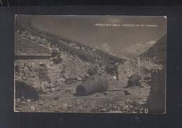 KuK AK Erbeuterte Mörser Am Mt. Toraro - Weltkrieg 1914-18