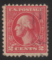 1920 US, 2c Stamp, George Washington, Used, Sc 527 - Stati Uniti