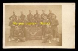 MILITARIA - REGIMENTS - 18EME BATAILLON DE CHASSEURS A PIED - CARTE PHOTO ORIGINALE - Régiments
