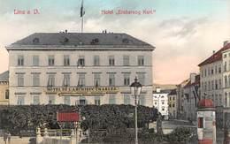 """AK - LINZ A.d. Donau, Hotel """" Erzherzog Karl """" - Linz"""