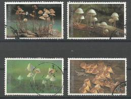 Thailand - 1993 Mushrooms  Used    Sc 1531-4 - Thailand