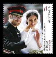Australia 2018 Mih. 4856 Royal Wedding. Prince Harry And Meghan Markle MNH ** - 2010-... Elizabeth II