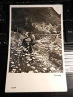 19836) FOTOGRAFO LAVATELLI PRIMAVERA VIAGGIATA 1935 MOLTO BELLA - Riproduzioni