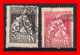 RUMANIA. SELLOS AÑO 1921-24 - 1918-1948 Ferdinand, Charles II & Michael