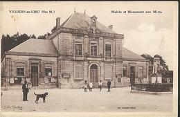 Villiers En Lieu  Mairie Et Monument Aux Morts - Saint Dizier