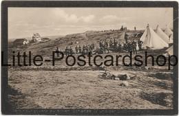 Foto AK Verbindungswerk Zwischen Schanze IV Und Der Düppeler Mühle Düppel 1864 Feldpost 1915 Sonderburg Erinnerungskarte - Altre Guerre