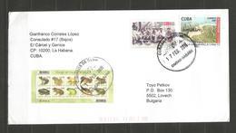 CUBA  - Traveled Card  To Bulgaria - D 3073 - Cuba